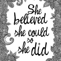 Image result for she dreamed and she did